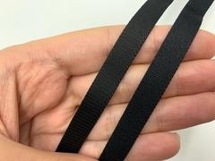 Резинка бретелечная черная 10 мм Lauma