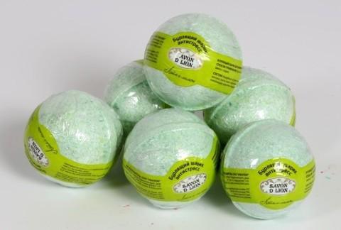 Бомбочки для ванн Лайм и лимон 130 гр. ТМ SAVON D LION