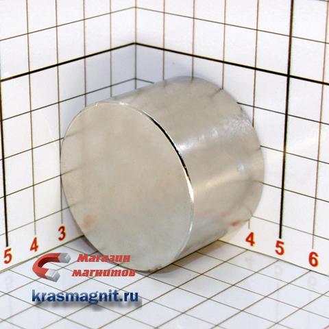 Неодимовые магнит диск 45х30 мм