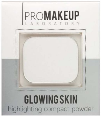 PROMAKEUP Laboratory Glowing Skin Highlighting Compact Powder сияющая компактная пудра 10 г