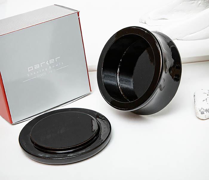 RAZ510-1 Чаша для бритья «PARKER» из дерева манго, черная фото 04
