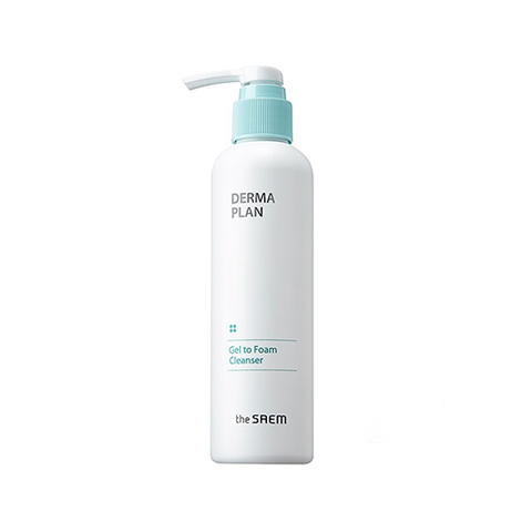 Очищающая пенка THE SAEM DERMA Plan Gel to Foam Cleanser 180ml