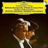 Herbert von Karajan, Berlin Philharmonic, Krystian Zimerman / Schumann & Grieg Piano Concertos (LP)