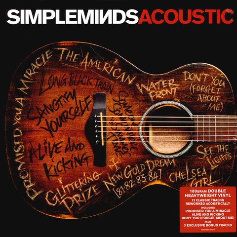 Simple Minds ‎/ Acoustic (2LP)
