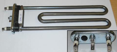 Тэн для стиральной машины Bosch (Бош)/Siemens (Сименс) 2000W -235мм уплотнитель без бортика, см. HTR011WH ПРОМО