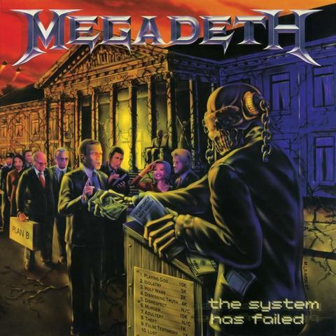 Megadeth / The System Has Failed (LP)