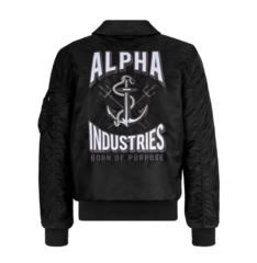 Бомбер Alpha Industries CWU 36/P MOD Triton Black (Черный)