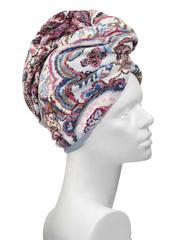 Полотенце для волос Feiler Maharani sky белое