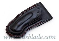 CUSTOM Handmade ZT 0454 Zero Tolerance 0454 Leather Sheath Black