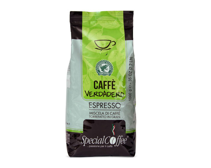 Кофе в зернах Special Coffee Verdadero Rainforest, 1 кг