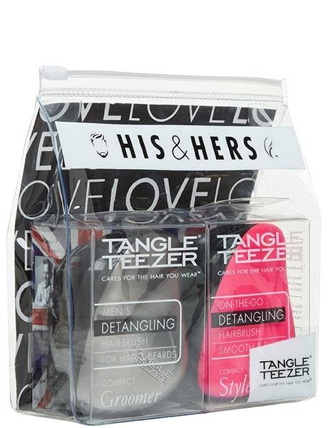 Набор расчесок подарочный Для Него и Нее Tangle Teezer Compact Styler (Расчёски)