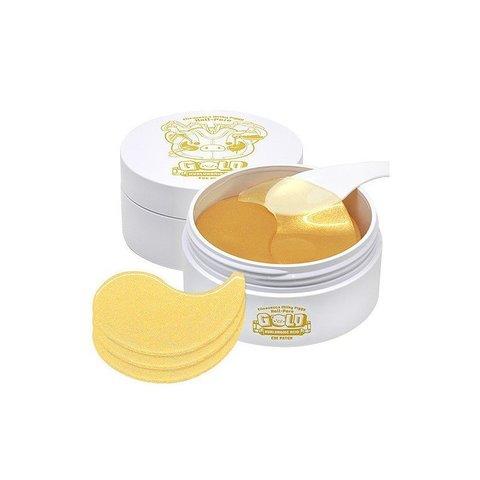 Гидрогелевые патчи с золотом и гиалуроновой кислотой, Elizavecca Milky Piggy Hell-Pore Gold Hyaluronic Acid Eye Patch