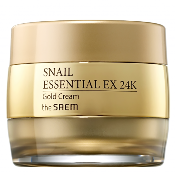 The Saem Snail Essential EX 24K Gold Cream