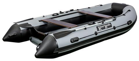 Моторно-гребная лодка RiverBoats RB — 390 (ПВХ, НДНД)