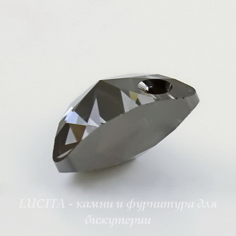 6628 Подвеска Сваровски Треугольник Crystal Silver Night (12 мм) ()