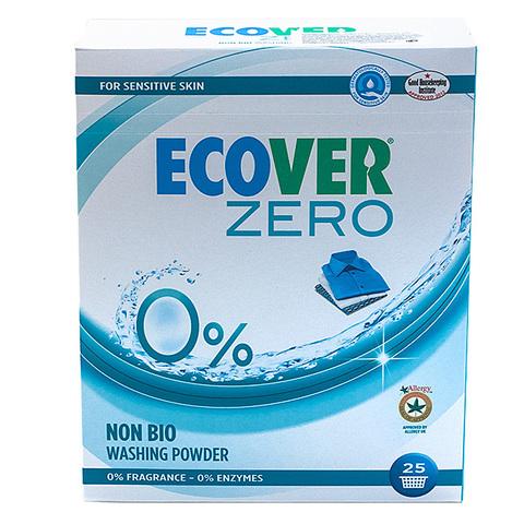 Ecover стиральный порошок нон-био с маркировкой