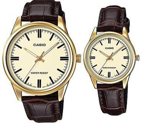 Купить Парные часы Casio Standard: MTP-V005GL-9AUDF и LTP-V005GL-9AUDF по доступной цене