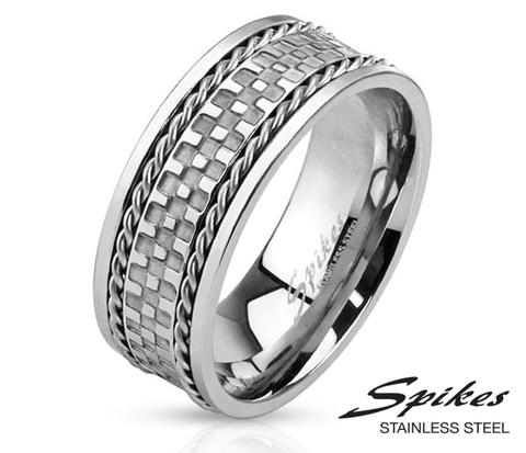 R-M3300 Оригинальное мужское кольцо «Spikes» из стали