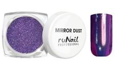 MIRROR DUST зеркальная пыль для втирки с аппликатором цвет СИРЕНЕВЫЙ арт(3177)