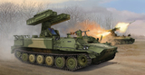 Ракетная установка ЗРК 9К35 Стрела-10 1:35