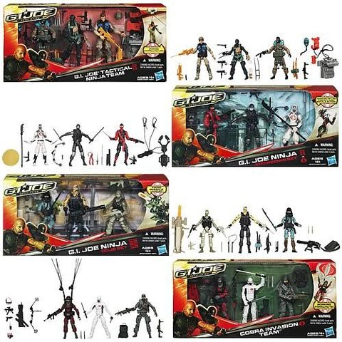 G.I. Joe Retaliation Showdown Action Figures