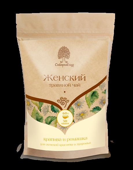 Чайный напиток, Сибирский Кедр, Женский, 60 г.