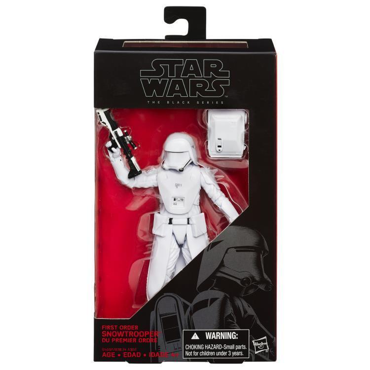 Фигурка Штурмовик Первого Ордена Star Wars: Black Series Звездные Войны Пробуждение Силы