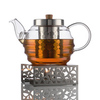 Заварочный чайник 1000 мл с подставкой для подогрева