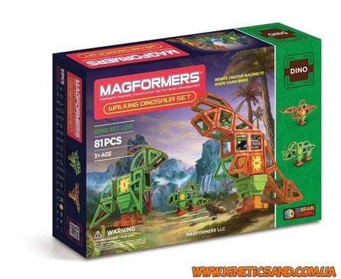 Magformers Оживший динозавр, 81 элемент