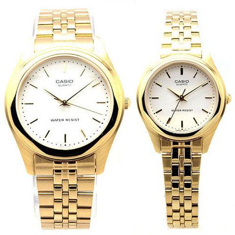 Купить Парные часы Casio Standard: MTP-1129N-7A и LTP-1129N-7A по доступной цене