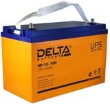 Аккумулятор DELTA HR 12-100 ( 12V 100Ah / 12В 100Ач ) - фотография