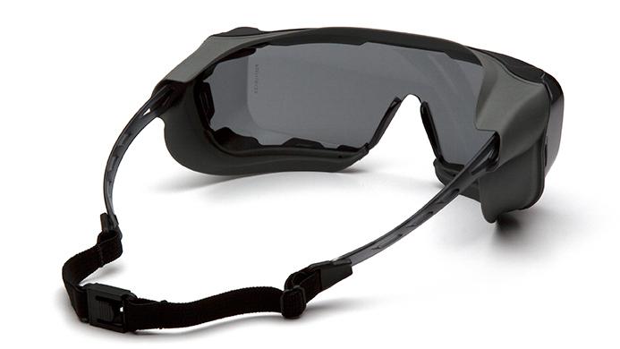 Очки баллистические тактические Pyramex Cappture S9920STMRG Anti-fog Diopter серые 23%