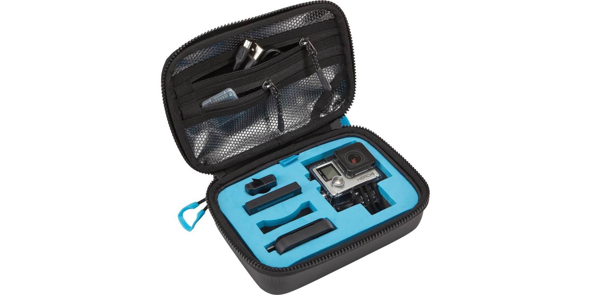 Кейс для камер Thule Legend открыт с камерой