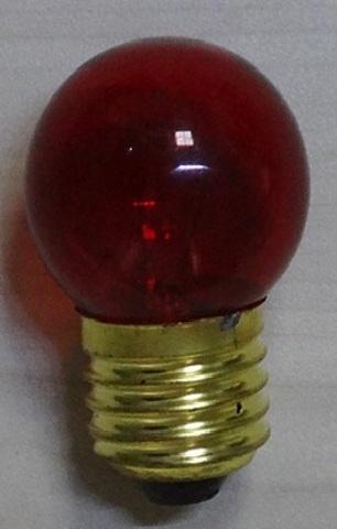 Лампа накаливания для белт-лайт, 10Вт, красная