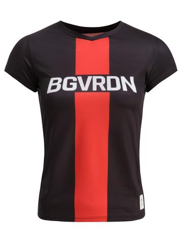 Футболка, Gri, BGVRDN, женская, черный