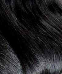 длинные волосы на трессе черные
