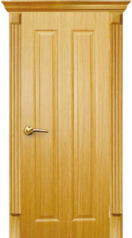 Складской остаток - Дверь AIRON Екатерина-2, цвет дуб кремовый, глухая (Данный товар возврату и обмену не подлежит)