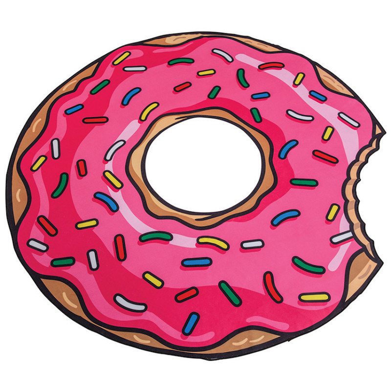 Каталог Пляжное покрывало Пончик «Strawberry Donut» Strawberry_Donut_mats.jpg
