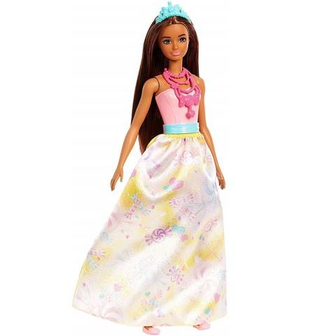 Барби Принцесса Свитвиля в желтом платье. Дримтопия