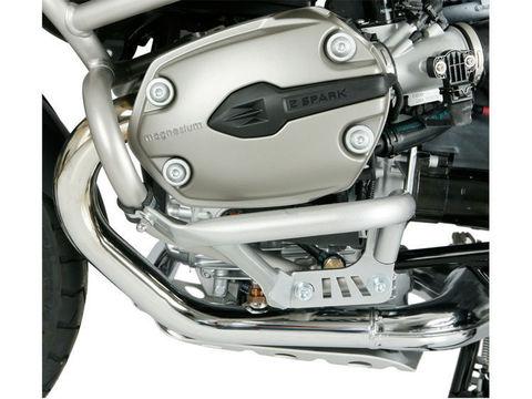 Дуги защиты двигателя BMW R1200GS/GSA серебро