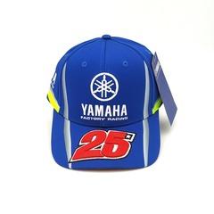 Кепка с вышитым логотипом Ямаха 25 (Кепка Yamaha 25) синяя