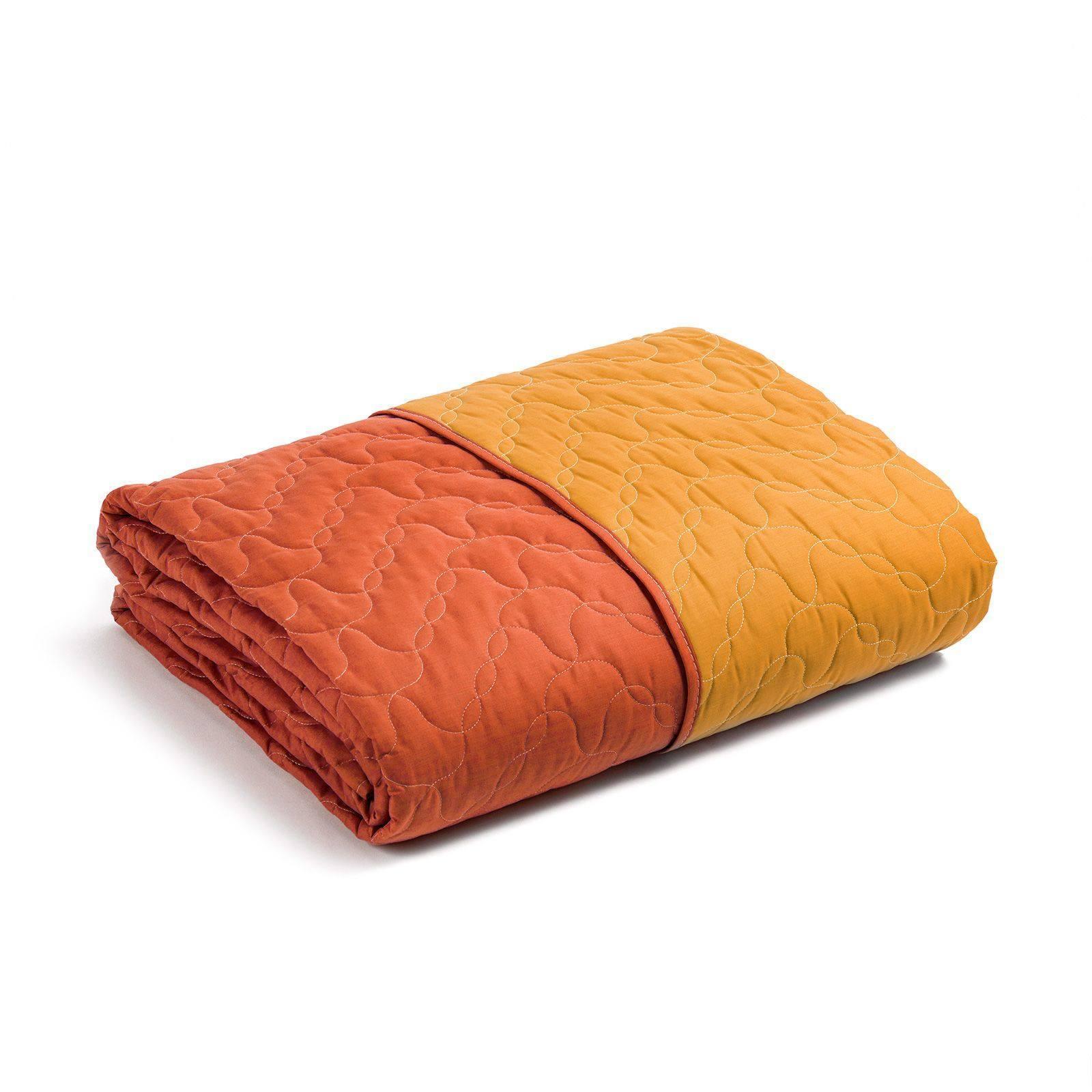 Покрывала Покрывало 170x270 Caleffi Mix Double оранжевое pokryvalo-170x270-caleffi-mix-double-oranzhevoe-italiya.jpg