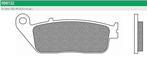 Тормозные колодки Newfren FD0132BT