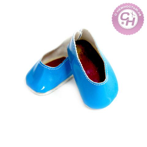 Туфли-балетки для кукол (игрушек) 7 см, 1 пара.