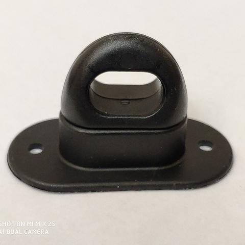 Скоба поворотная полиамидная чёрная
