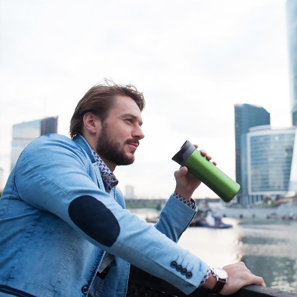 Термокружка El Gusto Primavera (0,47 литра), зеленая