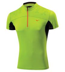 Мужская беговая футболка Mizuno DryLite Hex Tee (J2GA4007 37) lime