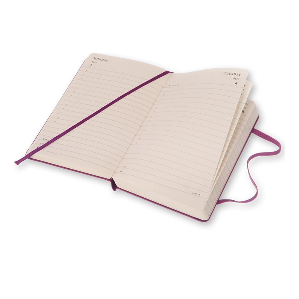 Еженедельник Moleskine Classic Wknt Large, цвет фиолетовый