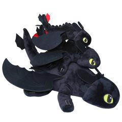 Как приручить дракона мягкая игрушка Ночная фурия
