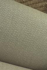 Льняной жаккард с шерстью цвет ХАКИ-МЕЛАНЖ фактура ЕЛОЧКА